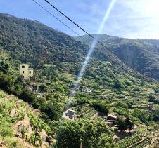 The hills of Corneglia.
